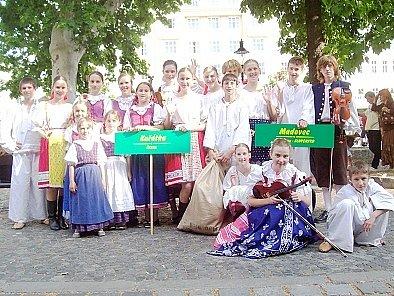 Chrudimský soubor Kuřátka.
