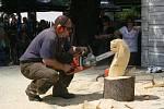 Den dřeva v hlineckém Betlémě.