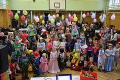 Bojanovský karneval si děti užily.