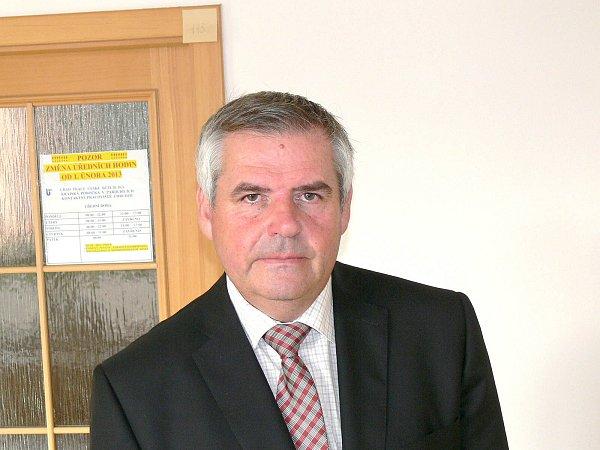 Ředitel krajské pobočky úřadu práce Petr Klimpl