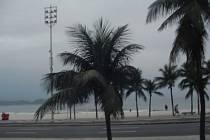 Světoznámá pláž Copacabana.
