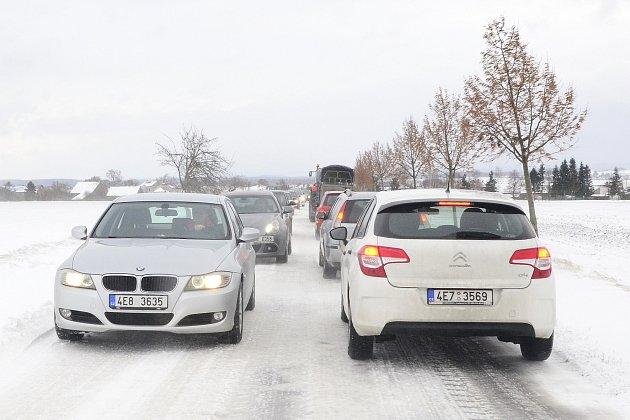 Silnice z Orle do Vlčnova