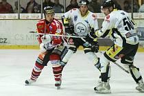 Výhra nad Kadaní pomohla chrudimským hokejistům k devítibodovému náskoku od sestupové příčky.