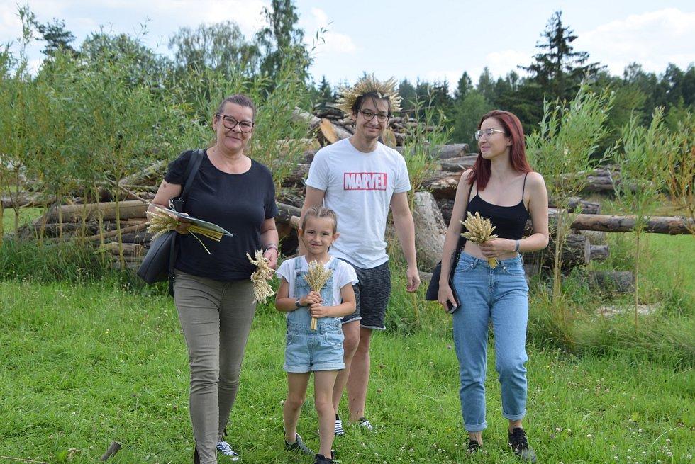 Kelti sklidili obilí a uspořádali řemeslnou sobotu
