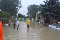 Velká voda zasáhla Chrudimsko.