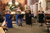 Koncert Hornového 4tetu.