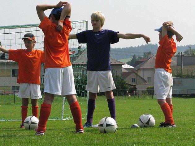 Fotbalový kemp v Dolní Čermné 2009