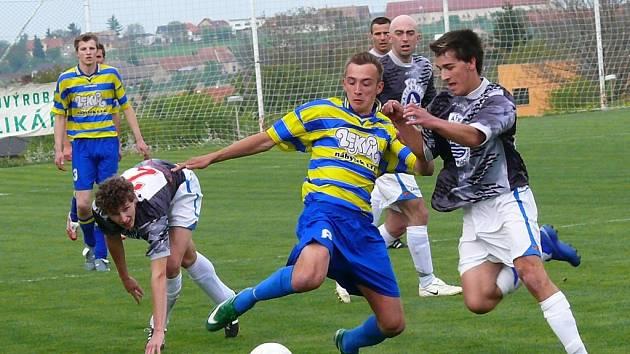Z derby krajského přeboru Stolany - Skuteč 3:0.