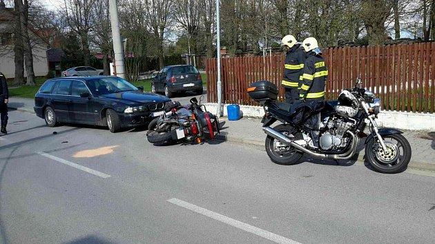 Nedělní nehoda v Proseči