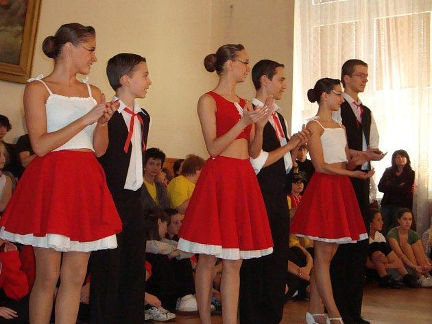 Na regionálním kole Festivalu tanečního mládí se představil i taneční klub TKG Hlinsko.