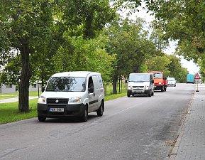 Provoz ve Václavské ulici.