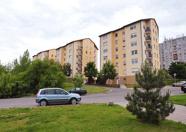 Výhledu na chrudimské panorama si náležitě užívají obyvatelé bytových domů na okraji sídliště Větrník.