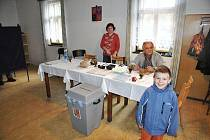 Z komunálních voleb v krounské místní části Rychnov.
