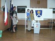 Z komunálních voleb 2010 v Krouně.