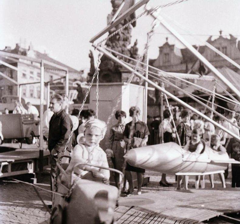 Salvátorská pouť v 60. letech minulého století.