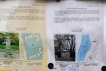 S podobou památek bez majitele, stejně jako  s jejich popisem a zakreslením do terénu, se Chrudimáci mohou setkat i prostřednictvím venkovní úřední desky v Pardubické ulici.