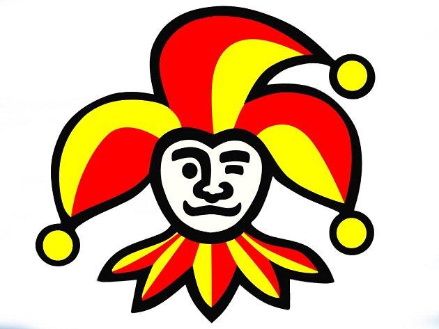 Logo hokejbalového týmu Jokerit Chrudim.