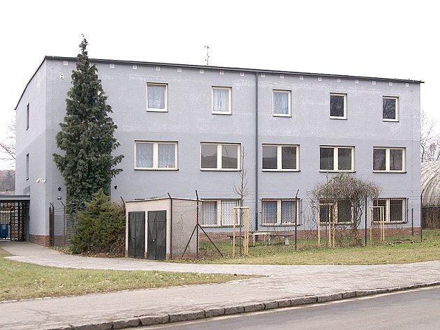 Ubytovna v Chrudimi.