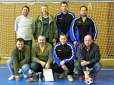 Bronzový tým trenérů AFK.