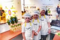 Děti vaří jako šéfkuchaři