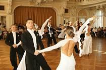 V chrudimském muzeu vládli na parketu při mistrovských soutěžích v plesových předtančeních, choreografiích polky  i v párové polce hlavně tanečníci chrudimského okresu a slovenští zástupci.