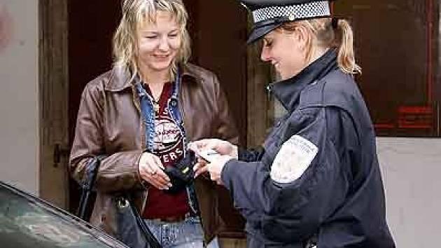 Desítky přestupků už vyřešili chrudimští strážníci v rámci dopravně bezpečnostní akce v centru města.