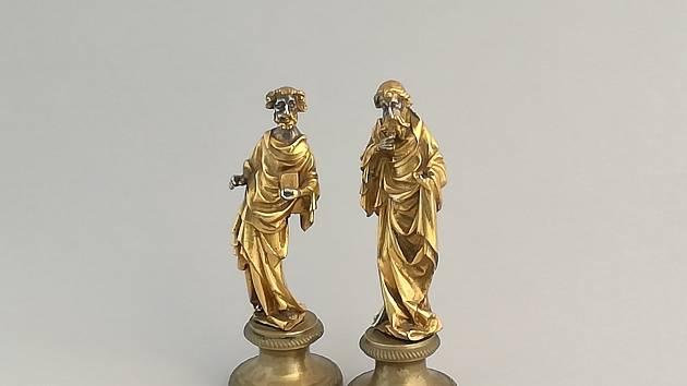 Svatý Petr a Pavel míří na výstavu do Hradce