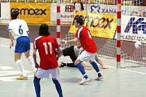 První gól v síti azerbajdžánského golmana má na svědomí Rman Mareš.