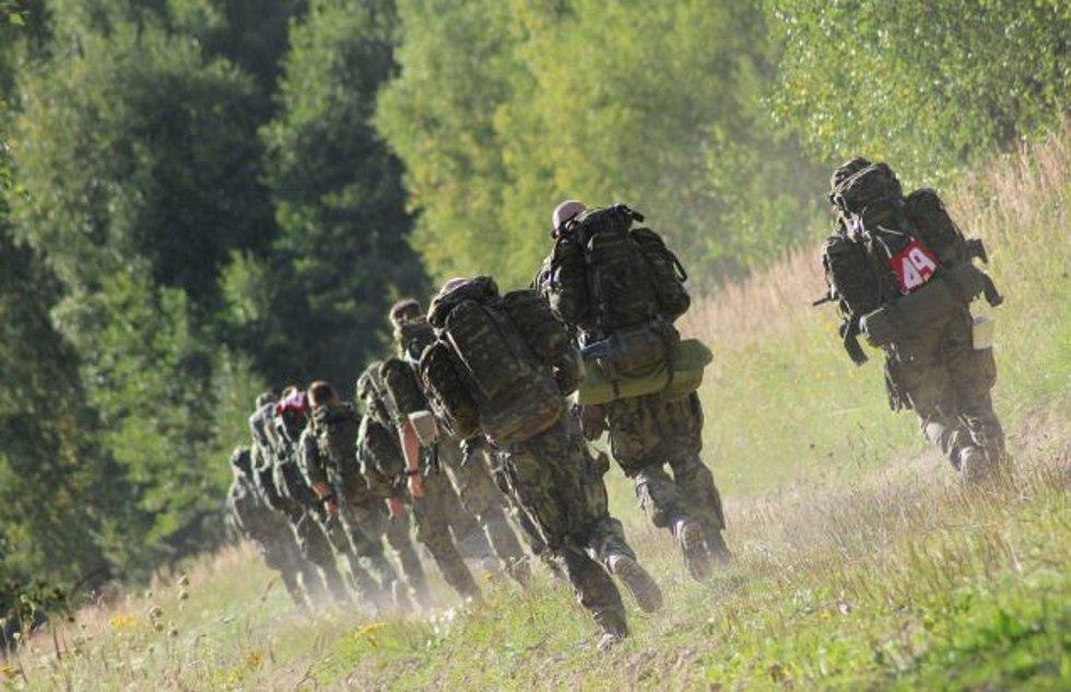 Chrudimští vojáci bojují v Prostějově. Vedou si dobře