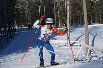 Dvacetiletý hlinecký závodník Marek Rauchfuss byl třetí na mistrovství Evropy v zimním tiatlonu.