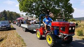 Ve Žďárci u Seče se konal Železnohorský traktor 2018.