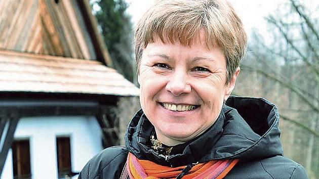 Ilona Vojancová, vedoucí správy Souboru lidových staveb Vysočina.