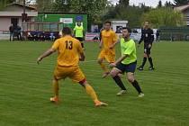 Heřmanoměstečtí fotbalisté porazili Staré Hradiště 2:0.