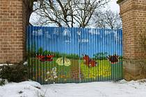 Vrata v Rabštejnské Lhotě.