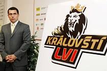 Tisková konference prvoligového klubu Královští Lvi Hradec Králové.