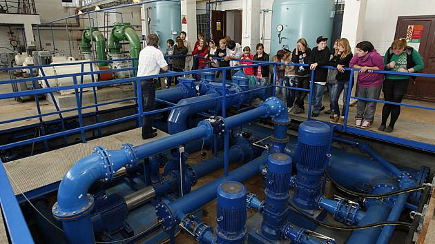 Úpravna vody v Hamrech se po rekonstrukci otevřela veřejnosti.