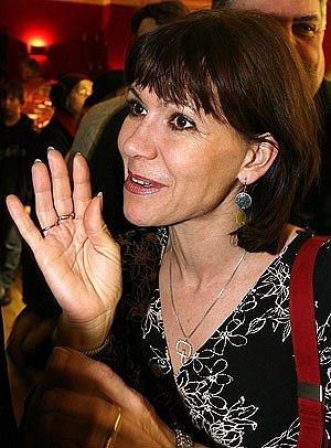 Herečka a moderátorka Michaela Dolinová.