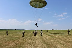 Airborne Triathlon – memoriál Nikolaje Martynova den první - seskoky