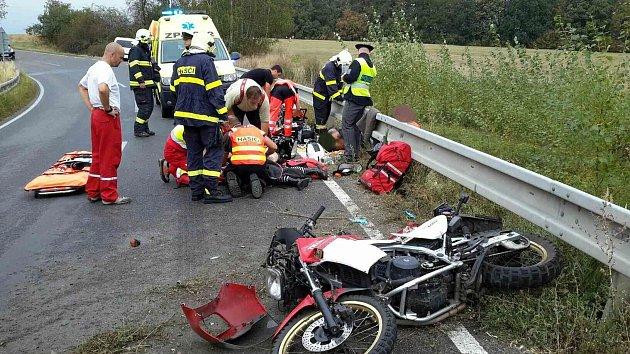 Dopravní nehoda v Předhradí