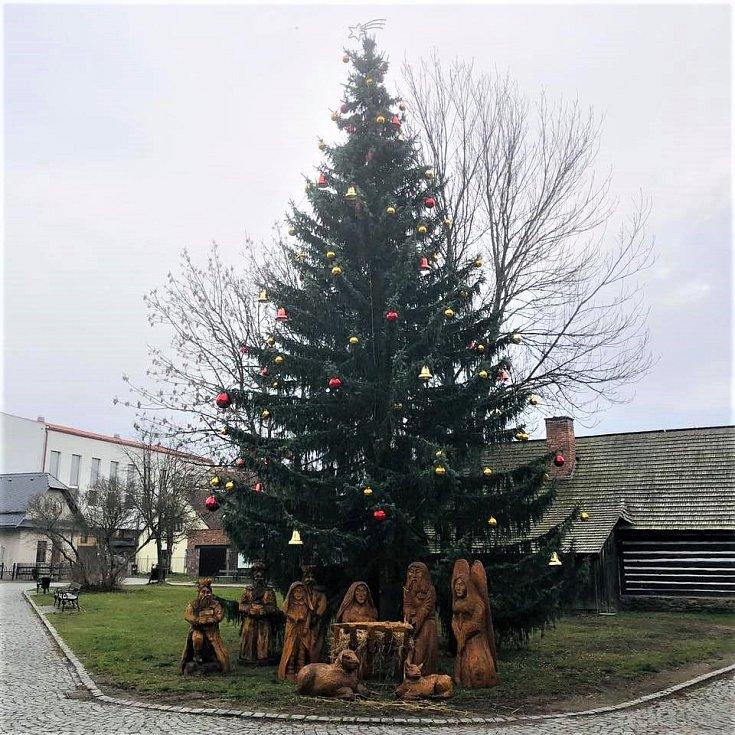 Vánoční strom - Hlinsko