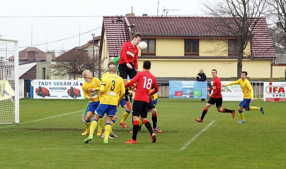 Fotbalisté MFK Chrudim soupeře z Benešova porazili.