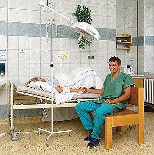 Novorozenecké oddělení chrudimské nemocnice.