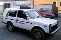 Skutečští strážníci dostali od ministerstva zánovní Ladu Nivu-speciál 1.7i , roku výroby 2004