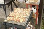 Řada nákazt salmonelou pochází z domácího grilování