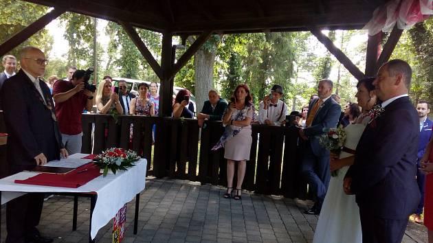 Hamzova léčebna zažila historicky první svatbu