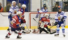 Hlinečtí hokejisté v prvním utkání čtvrtfinále play-off nedokázali skórovat