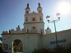 Kostel Panny Marie na Chlumku v Luži.