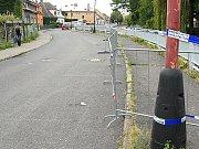 V Dolní Rovni se rozlévá Lodrantka. Silnice už jsou zavřené.