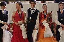 Celostátní taneční soutěž Cena TGK ve standardních a latinsko-amerických tancích.