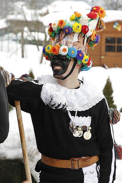 Masopustní rejdění se každoročně uskutečňuje i ve Vortové.